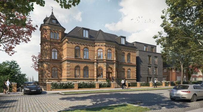 Visualisierung der Villa Schröder