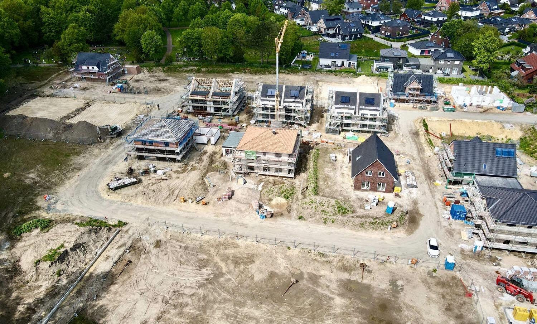Aumunder Wiesen 2.0 Luftbild Bremen Aumund