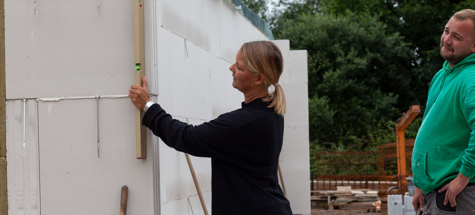 Bauleiterin Jenny Brandt M Projekt Bremen