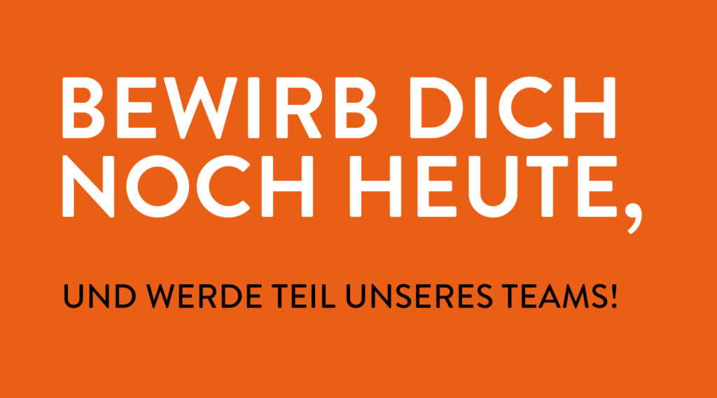 Karriere bei M-Projekt Bremen, Anzeige neuer Job.